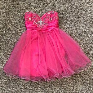 B. Darlin semi formal dress Size 3/4